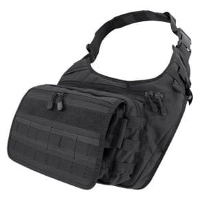 146 - Messenger Bag - Black - Condor