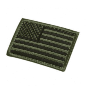 USA Flag Hook and Loop Patch – 2″x 3″
