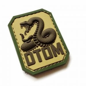 DTOM Pvc Morale Patch- Multicam