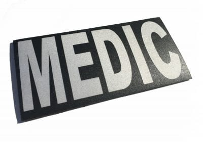 """IR Reflective Infrared Velcro Patch - 2""""x 4"""""""