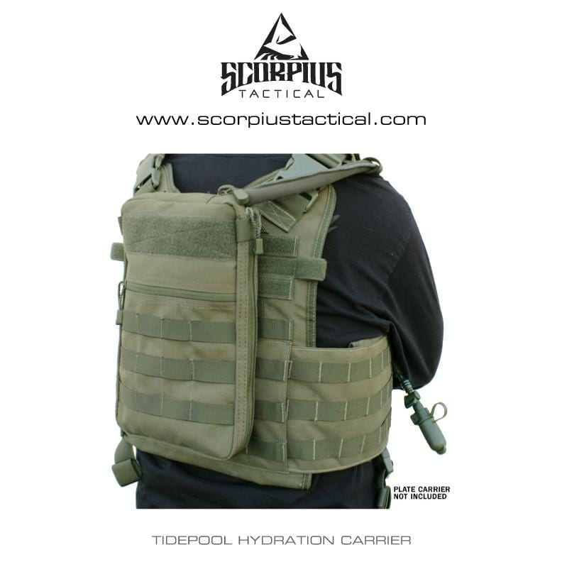 111030 - Tidepool Molle Hydration Carrier - Use With Plate Carriers ... 70e7f51d10be7