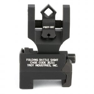 Troy Industries - Rear Folding BattleSight with Di-Optic Apertures - Black