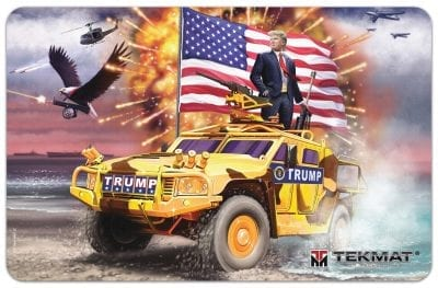 """Trump Cleaning Mat - by Tekmat - 11"""" x 17"""""""