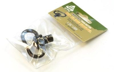 "AR15 UTG Push Button QD Sling Swivel to Fit with 1.25"" Loop"