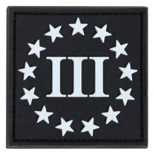 181008 - PVC 3-Percenter Morale Patch - Condor