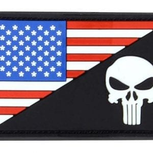 US Flag/Punisher patch