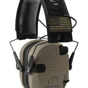 Walker's Razor Patriot Series Slim Shooter Electronic Muffs