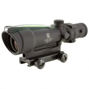 Trijicon, ACOG, 3.5x35, Dual Illuminated, Green Horseshoe .223 Ballistic Reticle, With TA51 Mount